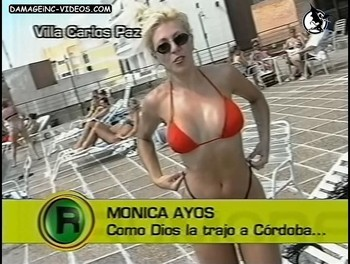 Monica Ayos hot body in bikini