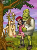 ADULT COMICS - SHREK