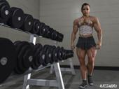 Alessandro - Muscle Lara Croft