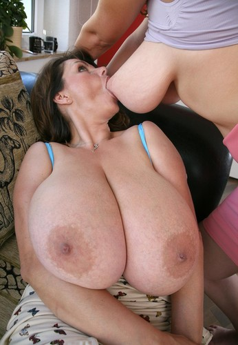 Milena Velba and Terry Nova   Two Moms