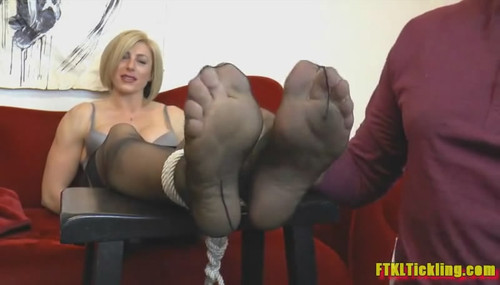 feet Big nylon