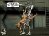 [XL-3D] Lucy gets a robo-fuck