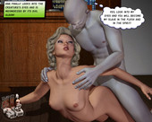 [XL-3d] Beautiful blonde girl sucks dick and gets fucked by bizarre alien like man