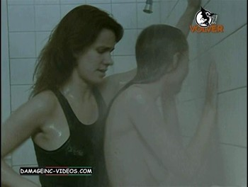 Celeste Cid nude in the shower damageinc videos