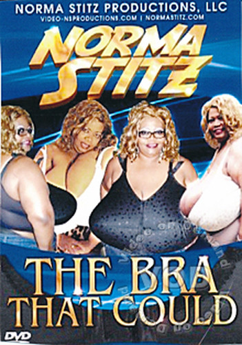 Norma   Giant breasts Ebony Black The Bra