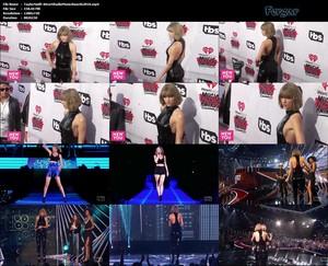 Taylor Swift Video Con Mono Negro Ajustadisimo Marcando Culo Tremendo, iHeartRadio Music Awards En Los Angeles 2016
