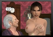 Squale666 - Lara Croft in the hands of the old pervert 2016