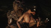 Skyrim - Dragon-Whore and Troll NEW