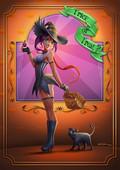 Awesome artwork with fantasy girls by Kimisz 2016