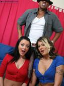 Sophie Dee & Cindy Crawford - Big Cock